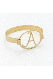 S & A Fashion Jewelry Initial Buckle Bracelet - Product Mini Image