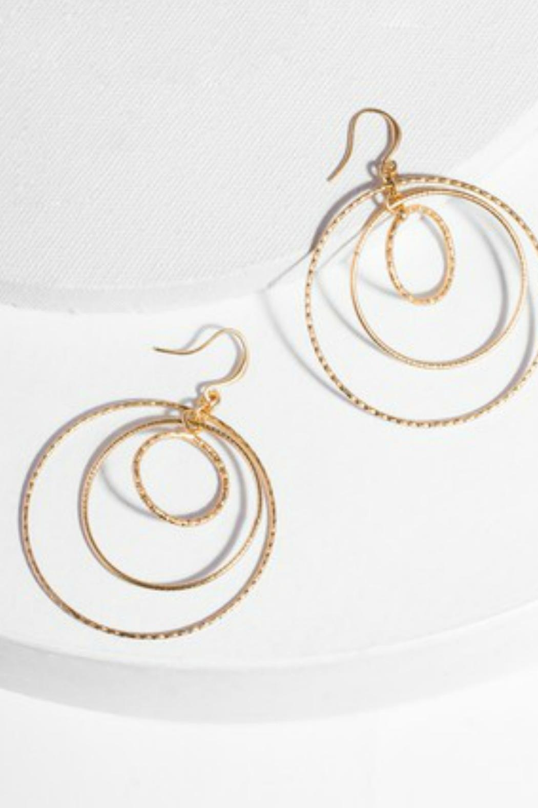 Saachi Chandelier Circle Earrings - Main Image