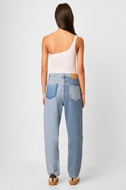French Connection Saachi Jersey One Shoulder Bodysuit - Side cropped