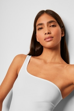 French Connection Saachi Jersey One Shoulder Bodysuit - Alternate List Image