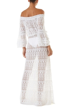 Melissa Odabash Sabina Embroidered Dress - Alternate List Image