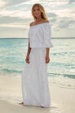 Melissa Odabash Sabina Embroidered Dress - Product List Image