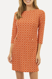 Jude Connally Sabine Dress-Circle Geo - Front cropped