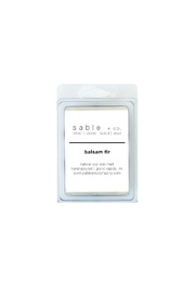 Sable + Company Balsam Fir Waxmelt - Front full body