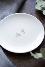 Sable + Company Minimal Bar Earrings - Product Mini Image