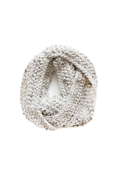 Sable + Company Beige Infinity Scarf - Alternate List Image