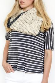 Sable + Company Bordered Cowl Scarf - Product Mini Image