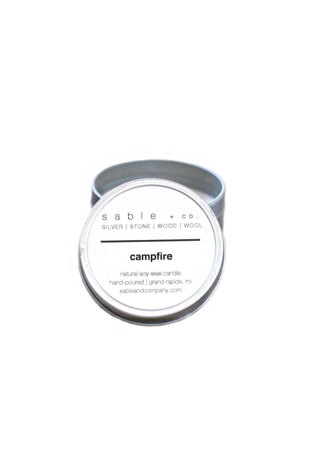 Sable + Company Campfire Candle - Side Cropped Image