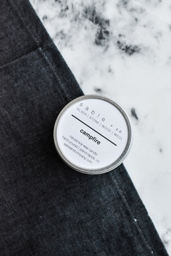 Sable + Company Campfire Candle - Product List Image