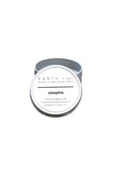 Sable + Company Campfire Candle - Alternate List Image