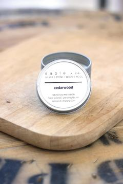 Sable + Company Cedarwood Essential-Oil Candle - Product List Image