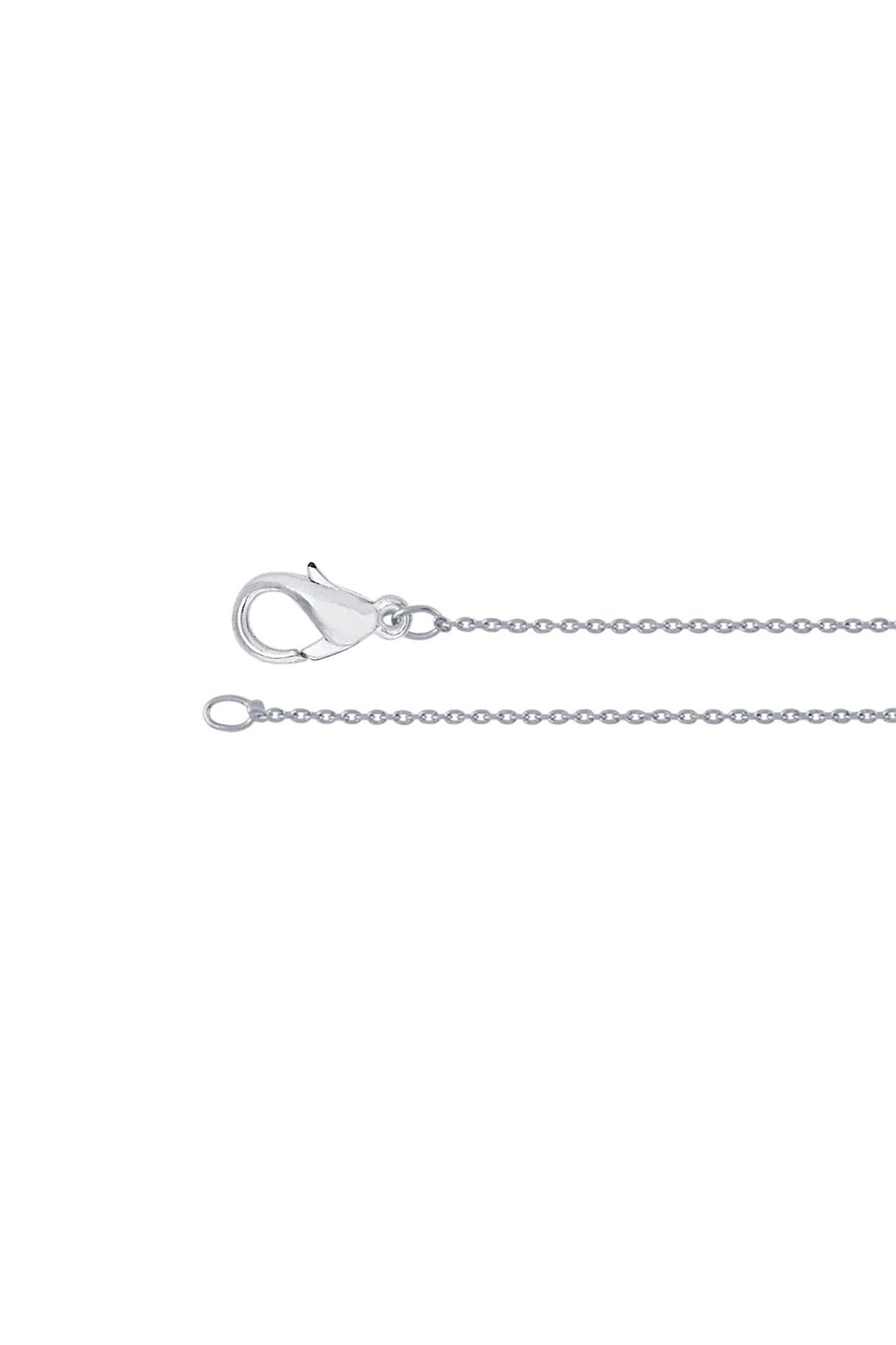 Sable + Company Circle Prong Necklace - Side Cropped Image