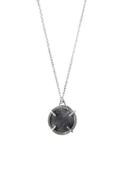 Sable + Company Circle Prong Necklace - Front cropped