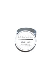 Sable + Company Citrus Sage Candle - Product Mini Image