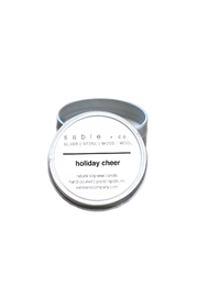 Sable + Company Holiday Cheer Candle - Product Mini Image
