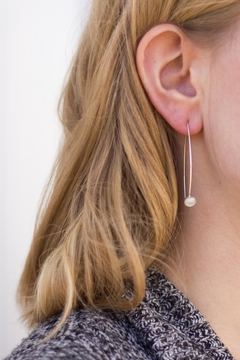 Shoptiques Product: Marble Threader Earrings