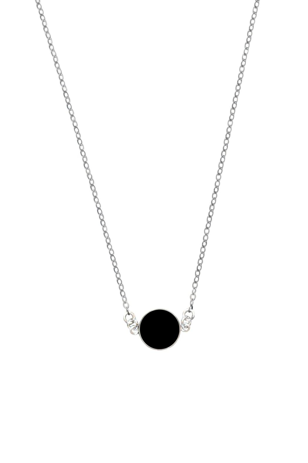 Sable + Company Onyx Necklace - Front Cropped Image