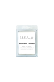 Sable + Company Sandalwood Bourbon Waxmelt - Product Mini Image