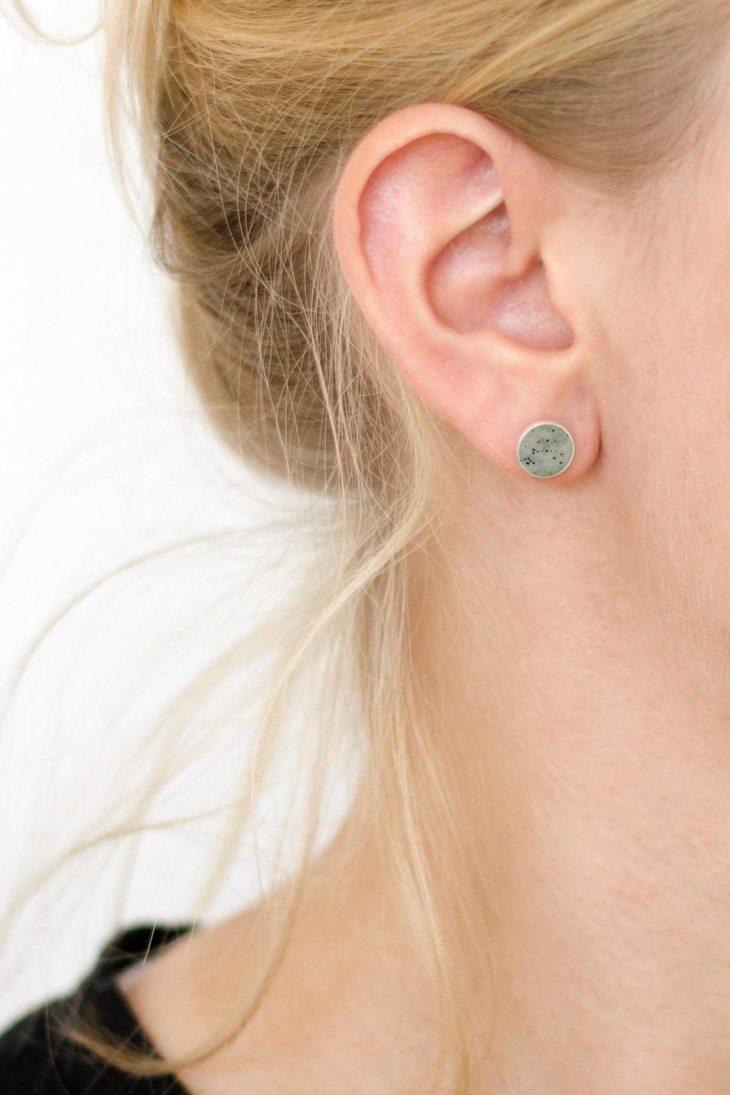 Sable + Company Sandstone Earrings - Side Cropped Image