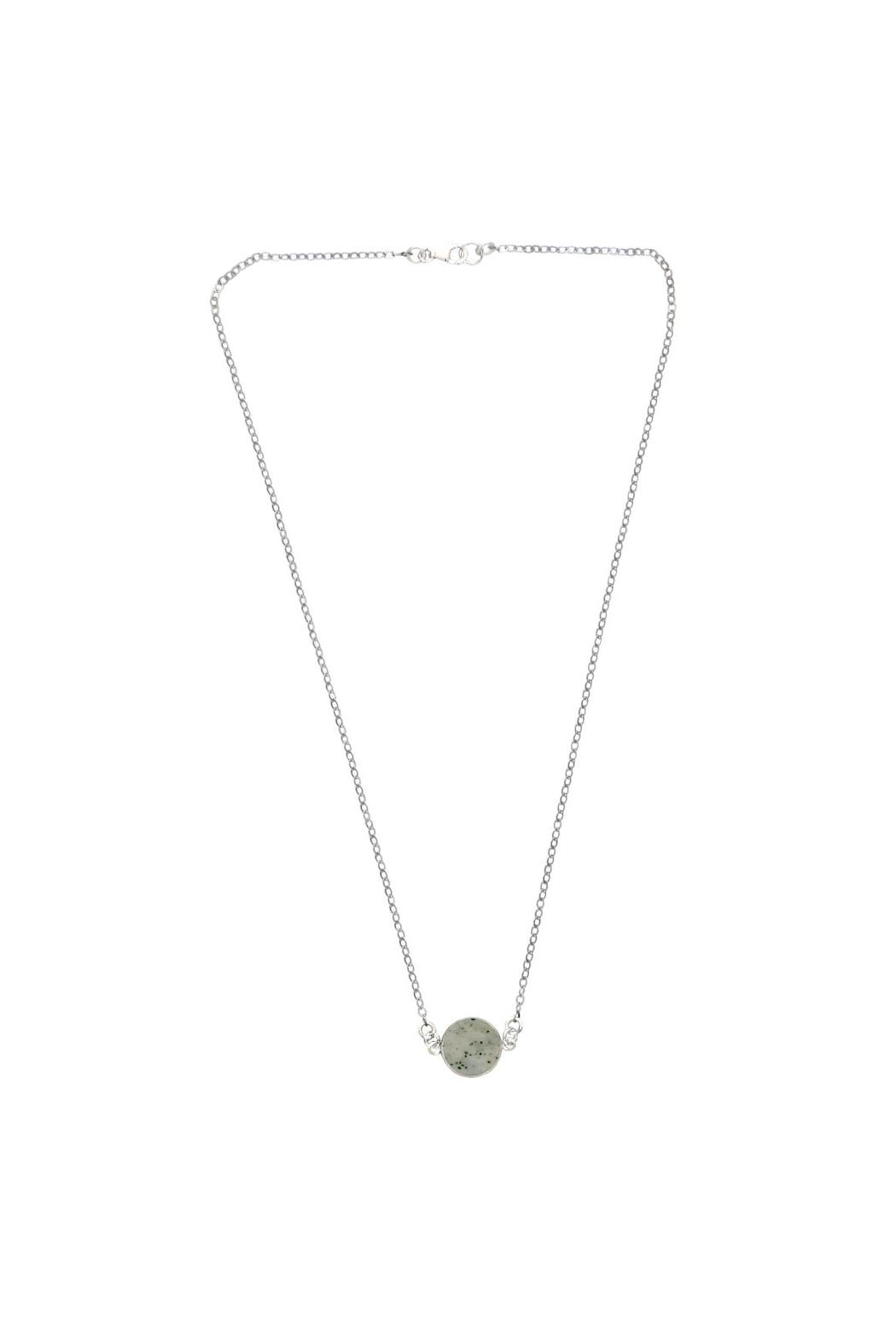 Sable + Company Sandstone Necklace - Front Full Image