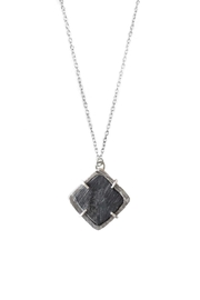 Sable + Company Square Prong Necklace - Front full body