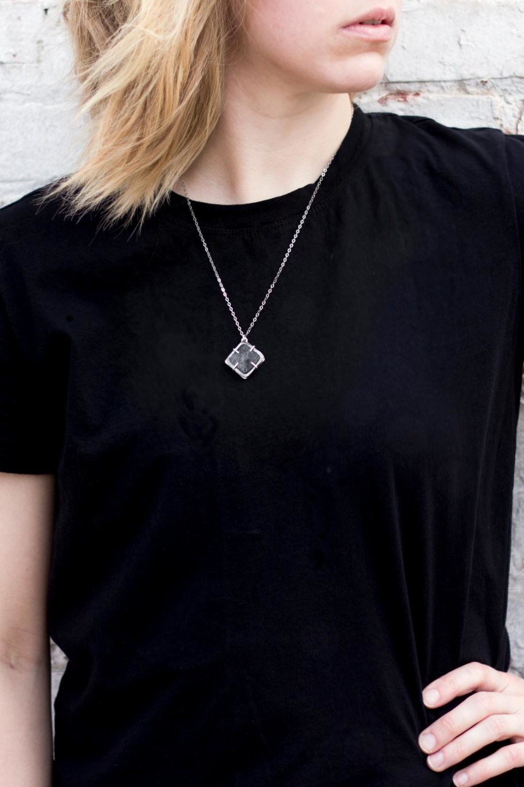 Sable + Company Square Prong Necklace - Main Image