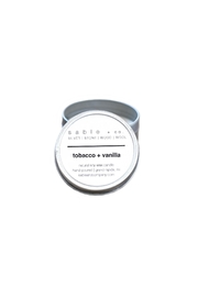 Sable + Company Tobacco Vanilla Candle - Product Mini Image