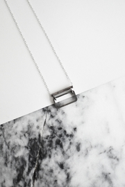 Sable + Company Tube Rectangle Necklace - Product Mini Image