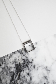 Sable + Company Tube Square Necklace - Front cropped