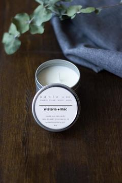 Sable + Company Wisteria Lilac Candle - Product List Image