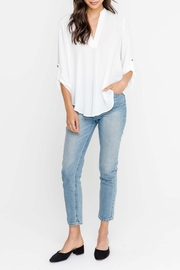 Lush Sabrina White Blouse - Product Mini Image