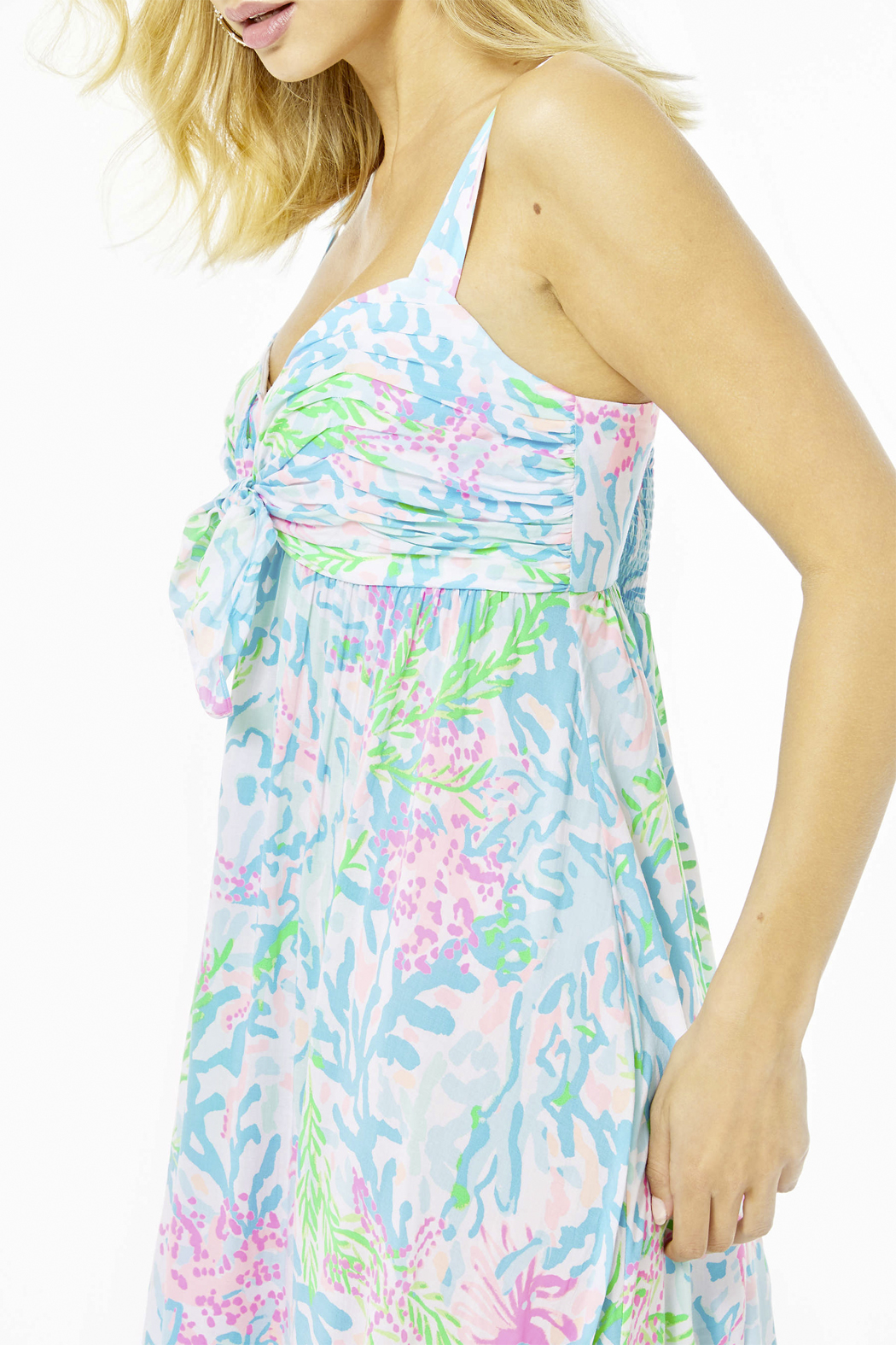 Lilly Pulitzer  Sabrinah Midi Dress - Side Cropped Image