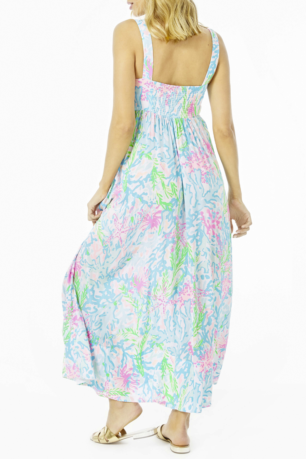 Lilly Pulitzer  Sabrinah Midi Dress - Front Full Image