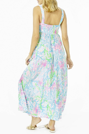 Lilly Pulitzer  Sabrinah Midi Dress - Front full body