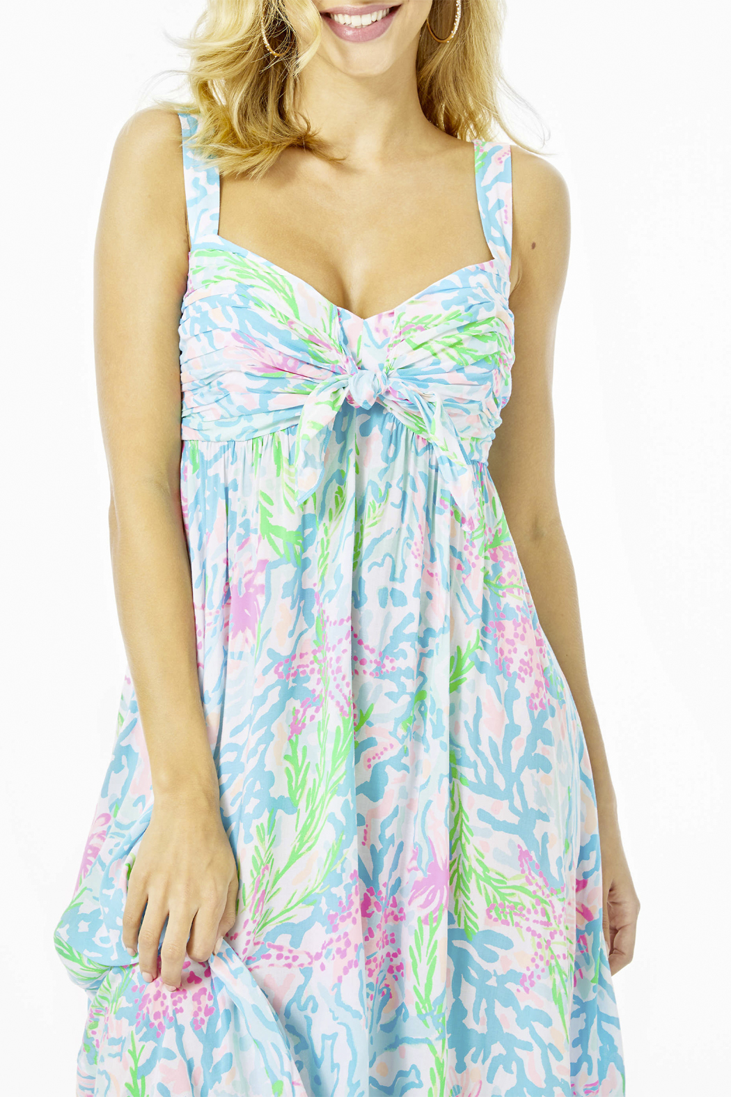 Lilly Pulitzer  Sabrinah Midi Dress - Back Cropped Image