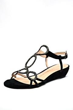 Shoptiques Product: Embellished Suede Wedge