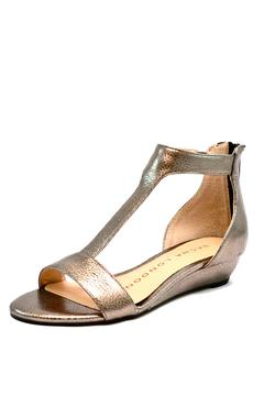 Shoptiques Product: Pewter T-Strap Wedge