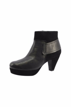 Sacha London Suede And Leather Bootie - Alternate List Image