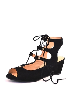 Shoptiques Product: Tie Up Peep Toe Sandal