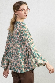 SACK'S Calla Printed Blouse - Front full body