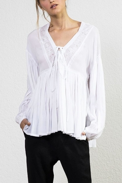 Shoptiques Product: Lillian Embroidered Blouse