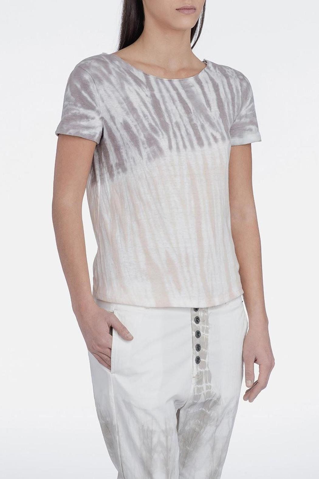 Sack s rick shredded tee from north yorkshire by boho chic