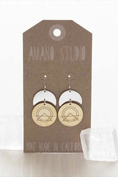 Shoptiques Product: Sacred Geometry Earrings