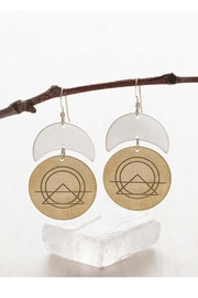 Amano Trading Sacred Geometry Earrings - Product Mini Image