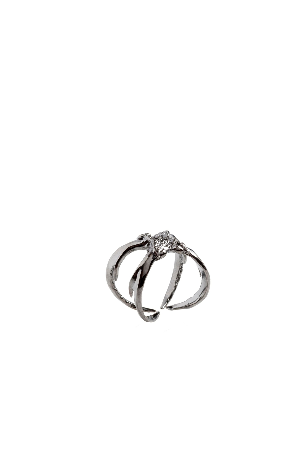 Sacrosanta Bettle Pincers Ring - Front Cropped Image
