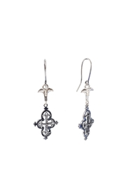 Sacrosanta Cross Lunata Earrings - Product Mini Image