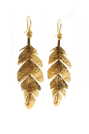 Sacrosanta Free Feather Earring - Product Mini Image
