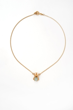 Sacrosanta Beetle Aquamarine Necklace - Product List Image