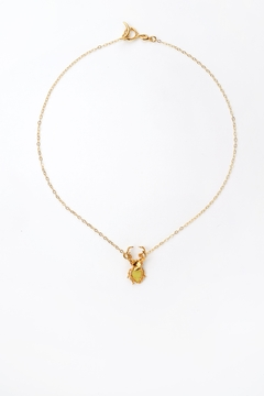 Sacrosanta Yellow Beetle Necklace - Product List Image