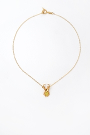 Sacrosanta Yellow Beetle Necklace - Product Mini Image